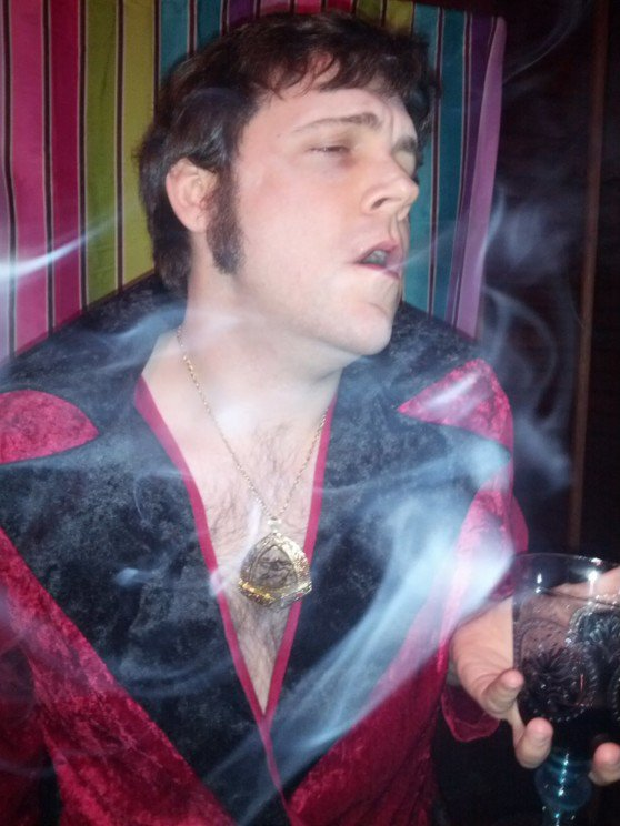 Smoking Jacket Decadence - Brent Angeline